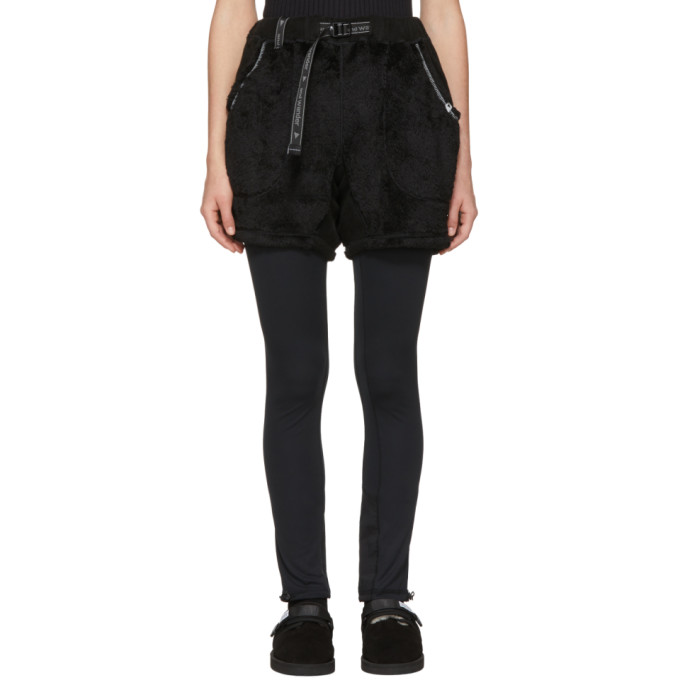 Image of and Wander Black Dry Jersey Leggings