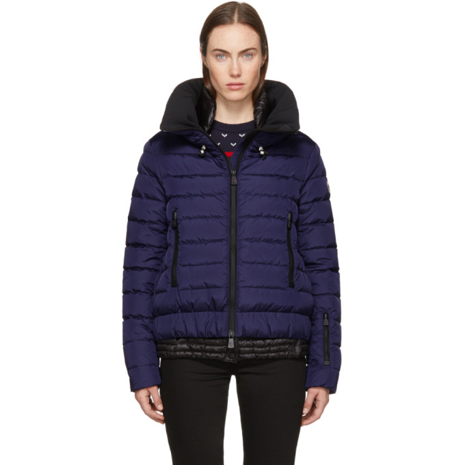 Image of Moncler Grenoble Purple Down Vonne Jacket