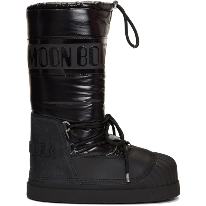 Image of Moncler Grenoble Black Venus Moon Boots