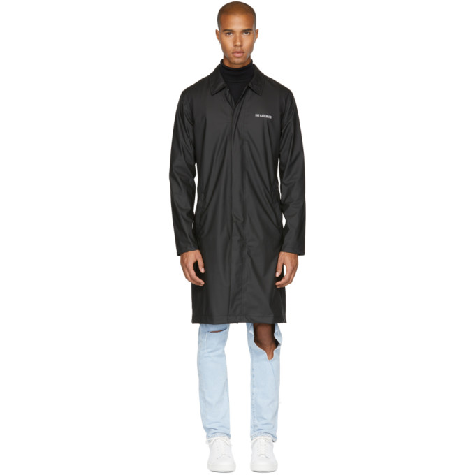 Image of Han Kjobenhavn Black Garden Rain Coat