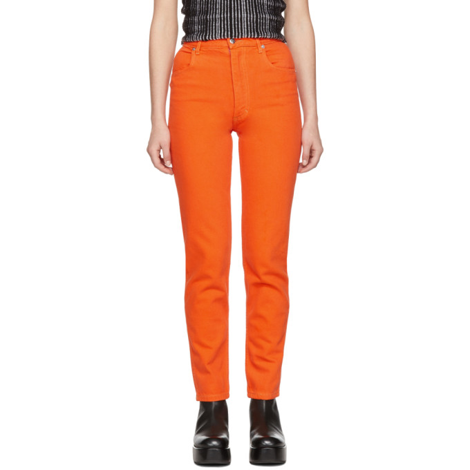 Eckhaus Latta Orange EL Jeans