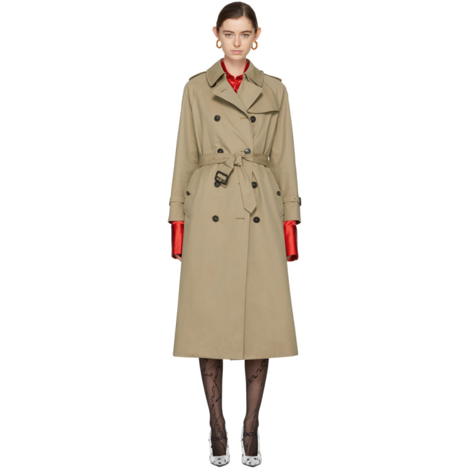 Image of Mackintosh Beige Classic Trench Coat
