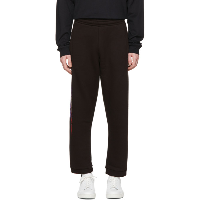 Image of 032c Black 'Energy' Lounge Pants