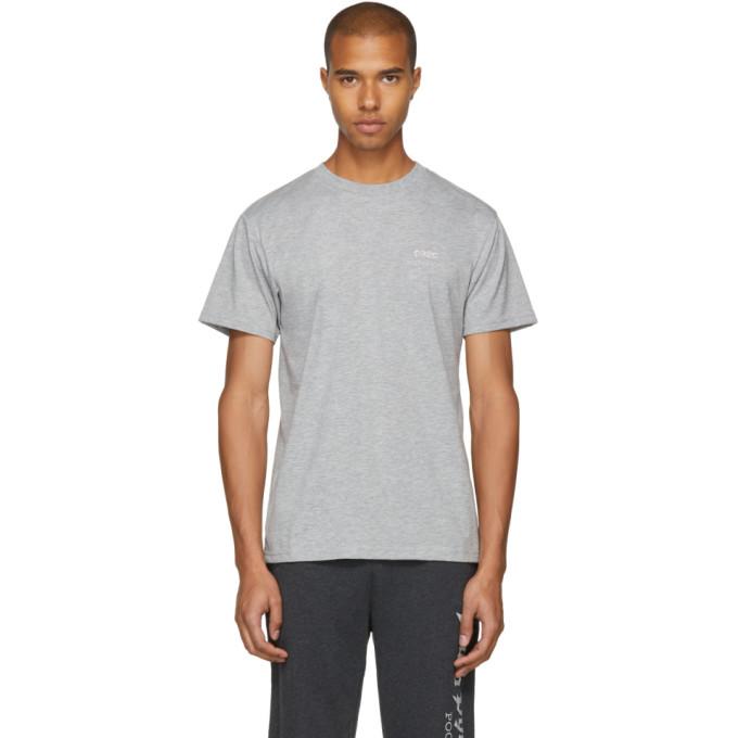 032c Grey Crystal Logo T Shirt