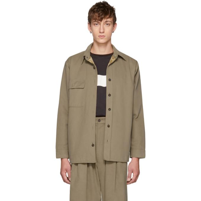 Image of Bless Reversible Beige Woodhacker Jacket