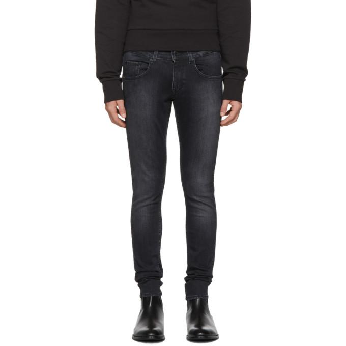 Image of Tiger of Sweden Jeans Black Jimi Wash Jeans