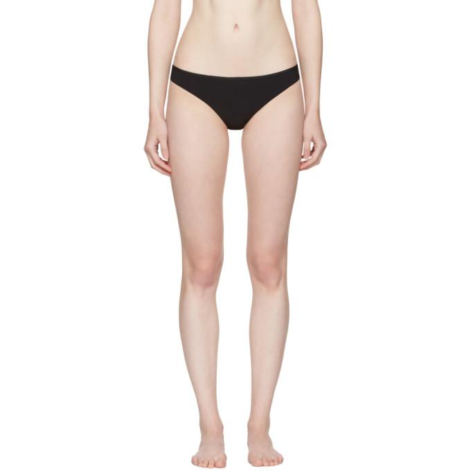 Image of Ward Whillas Black Ginny Bikini Bottom