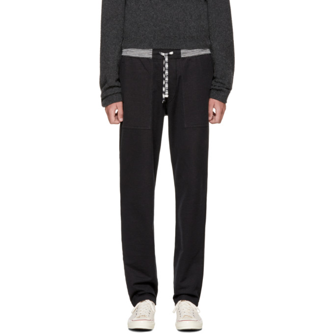 Image of Missoni Black Striped Lounge Pants