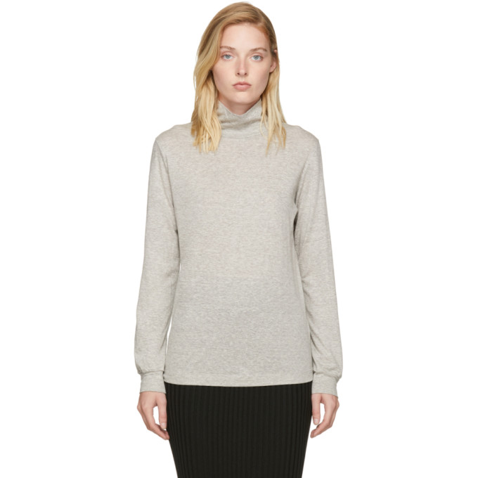 Image of Moderne Grey Joan Turtleneck