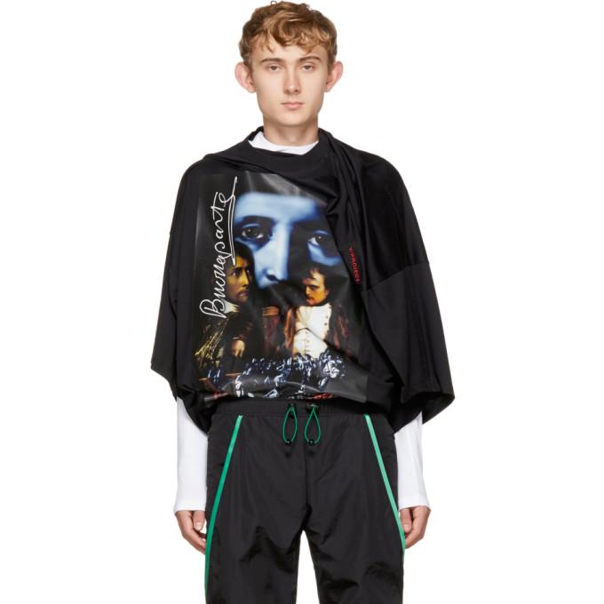 Image of Y/Project Black Oversized 'Slim Shady' T-Shirt