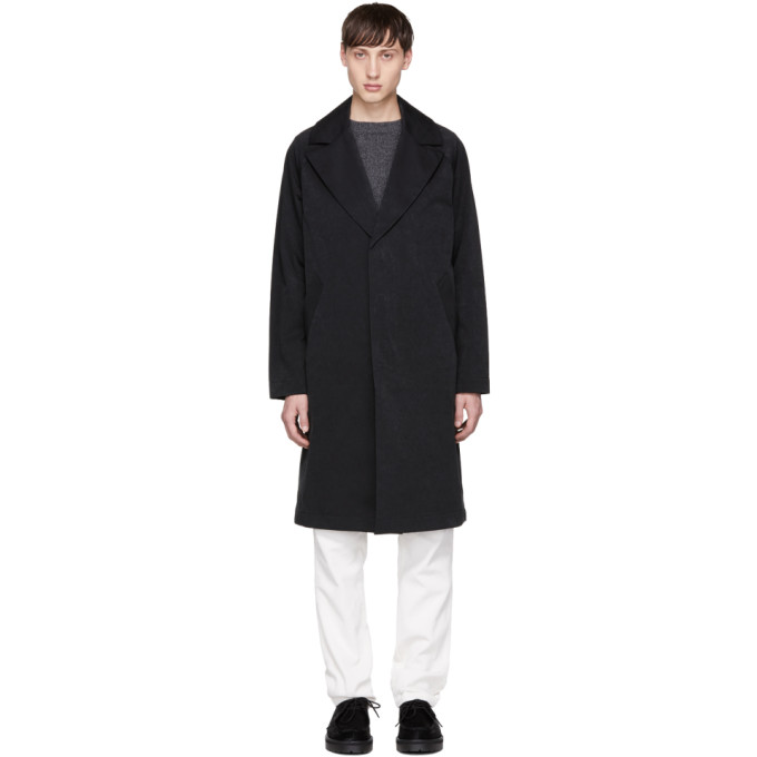 Image of Saturdays NYC Black Clyde Trench Coat