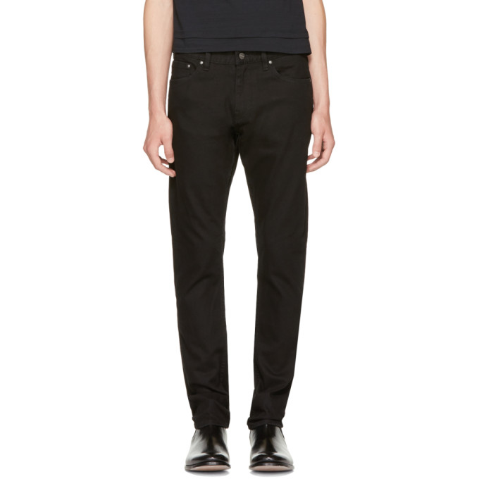 Image of Saturdays NYC Black Charlie Jeans