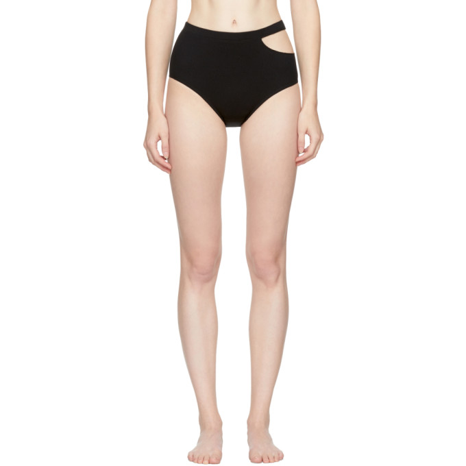 Image of Marieyat Black Sade Briefs