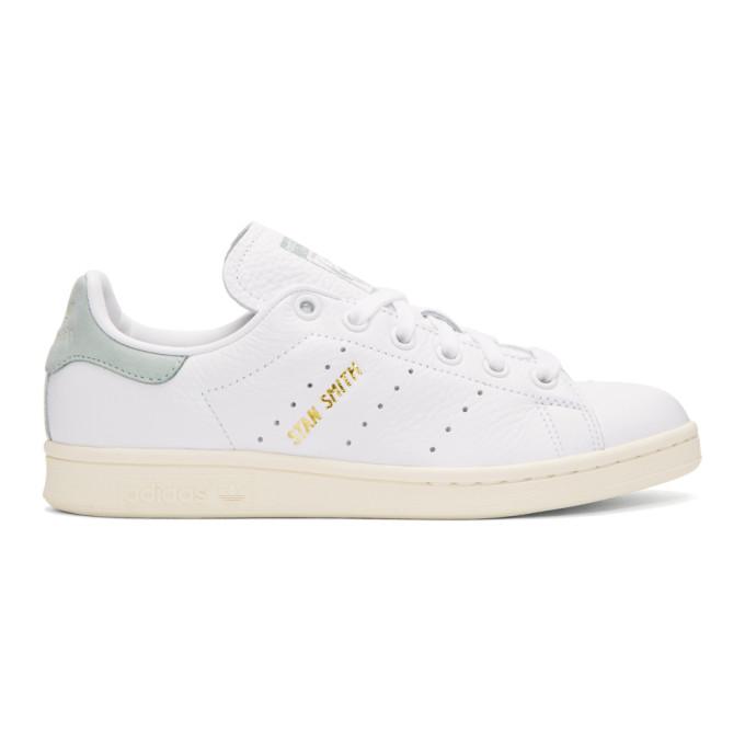 c3982fb2ce4bf ADIDAS ORIGINALS X PHARRELL WILLIAMS. Adidas Originals X Pharrell Williams  White And Green Stan Smith Sneakers ...