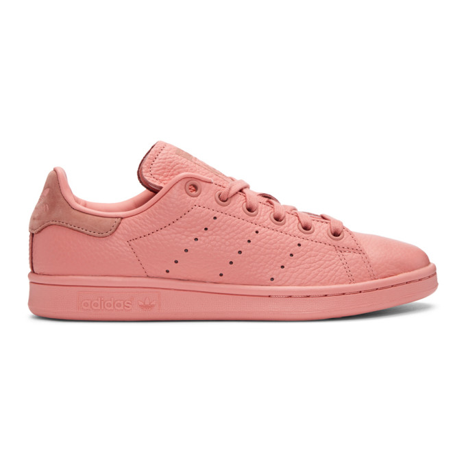 Image of adidas Originals x Pharrell Williams Pink Stan Smith Sneakers