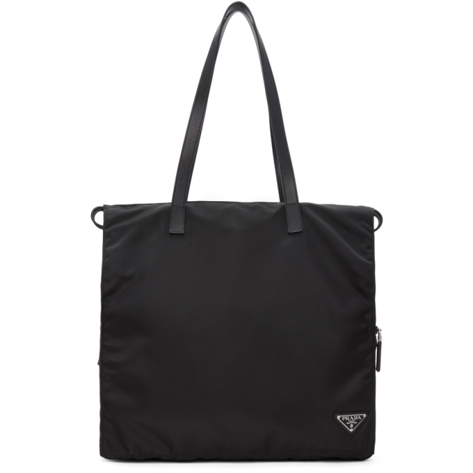 Prada Black Everyday Tote