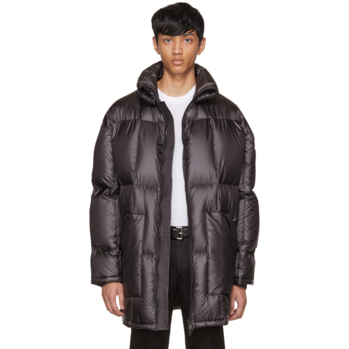 Prada Black Down Ripstop Puffer Jacket