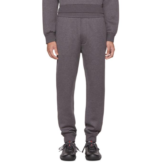 Prada Grey Tech Jersey Lounge Pants