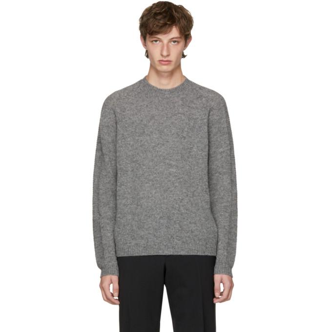 Prada Grey Wool Sweater
