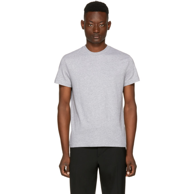 Prada Three-Pack Grey Basic T-Shirt