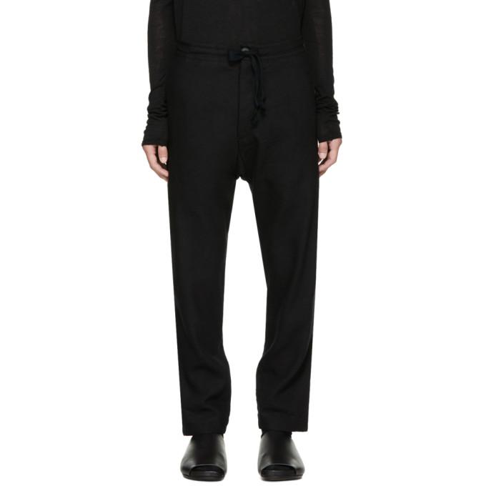 Image of Jan-Jan Van Essche Black #25 Trousers