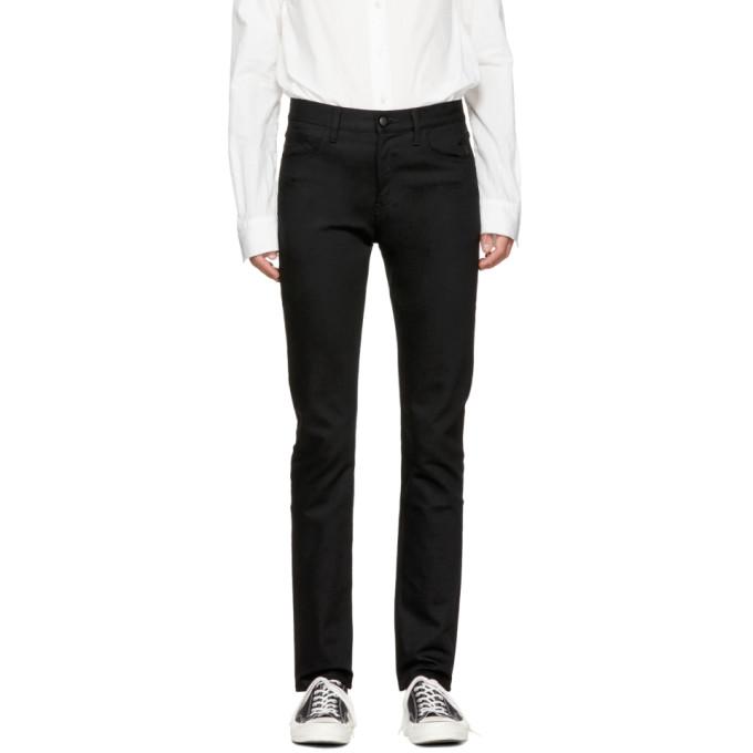 Takahiromiyashita Thesoloist. Black Lone Star Skinny Jeans