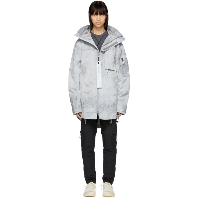Image of adidas DAY ONE Grey Three-Layer Parka