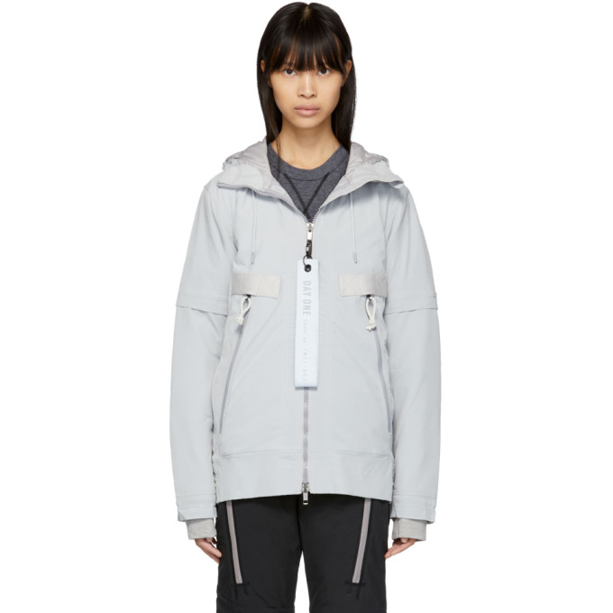 Image of adidas DAY ONE Grey Polar Tech Lightweight Jacket