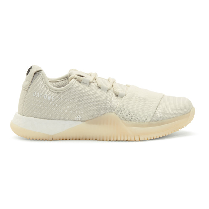Image of adidas DAY ONE Beige Crazy Train Sneakers