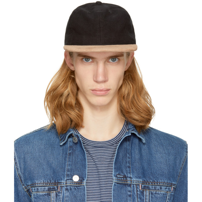 Image of paa Black Suede Ball Cap