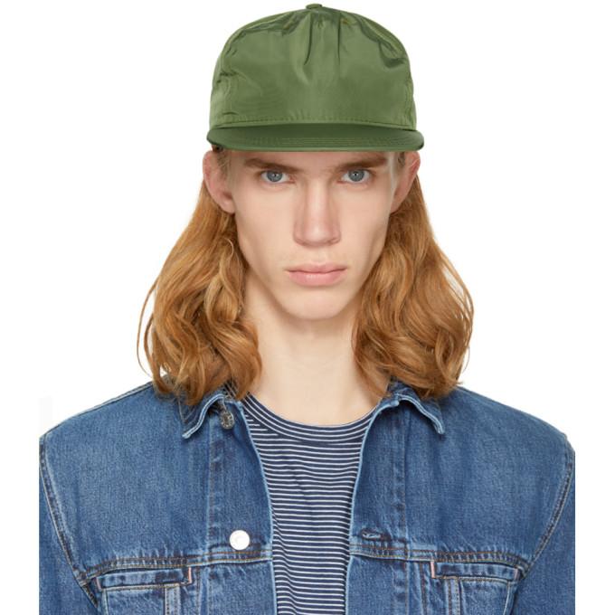 Image of paa Green Pleat Cap