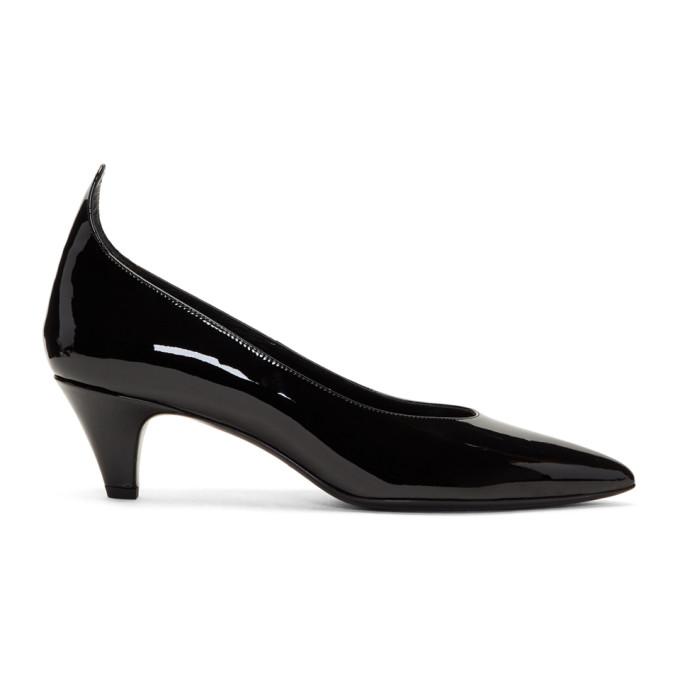 Image of Calvin Klein 205W39NYC Black Patent Kait Heels