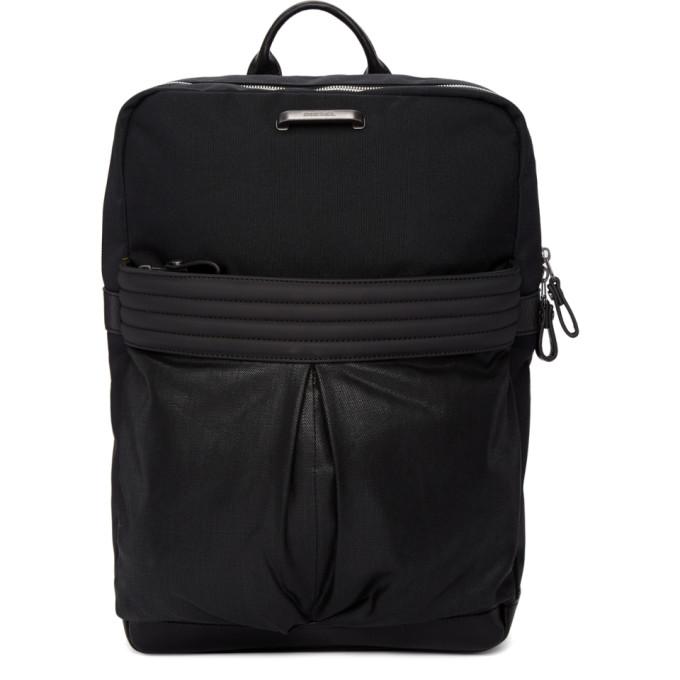 Diesel Black M Proof Backpack