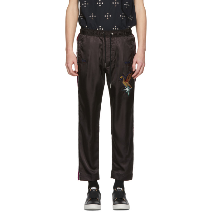 Image of Diesel Black Bird P-Fine Lounge Pants