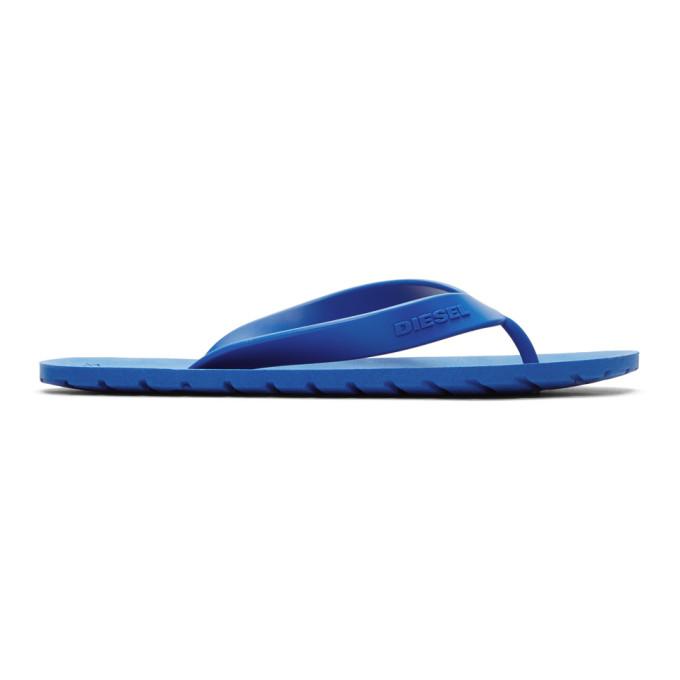 Diesel Blue Splish Sandals