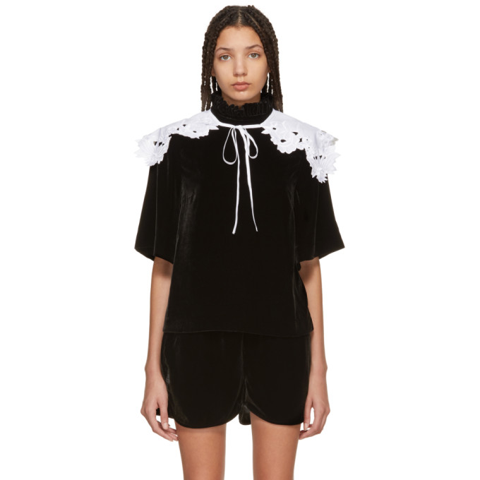 Image of Cecilie Bahnsen SSENSE Exclusive White Oda Collar