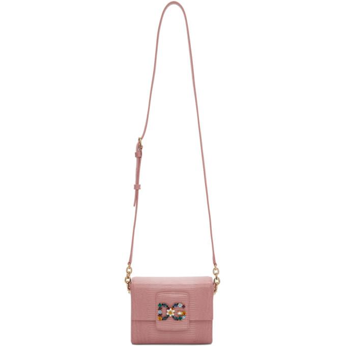 Dolce & Gabbana Pink DG Millennials Bag