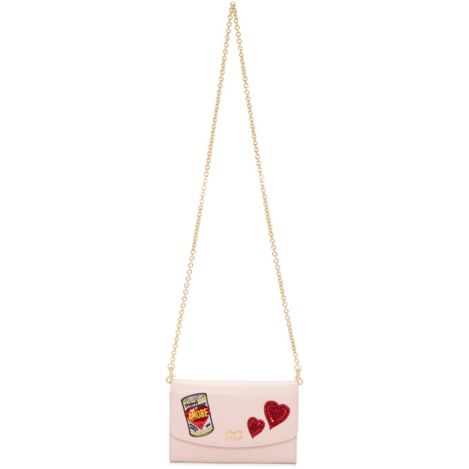 Dolce & Gabbana Pink 'Amore' Energy Can Bag