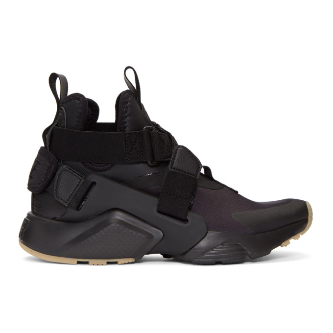 Nike Black Air Huarache City Sneakers