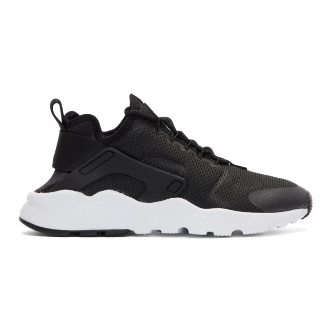 Nike Black Air Huarache Run Ultra Sneakers