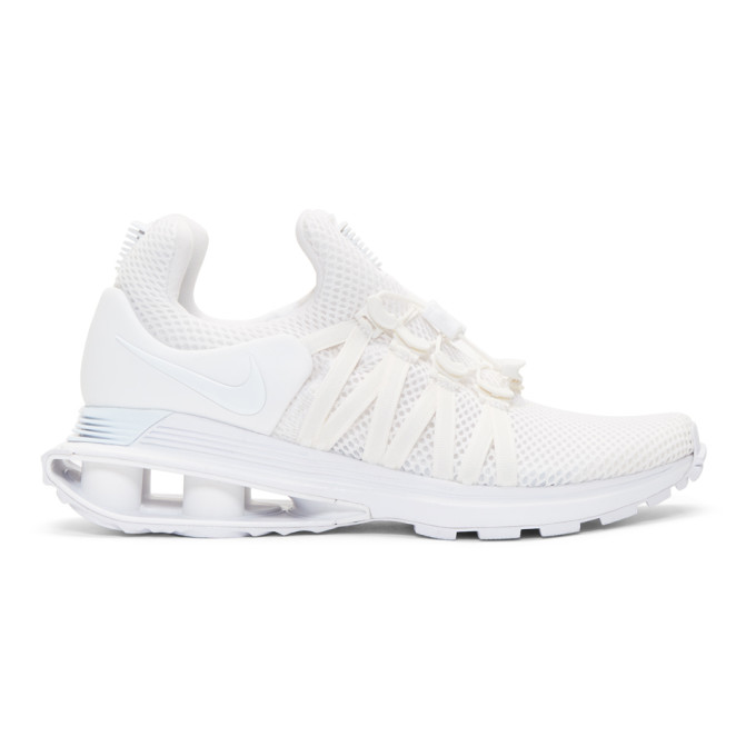 Nike White Shox Gravity Sneakers