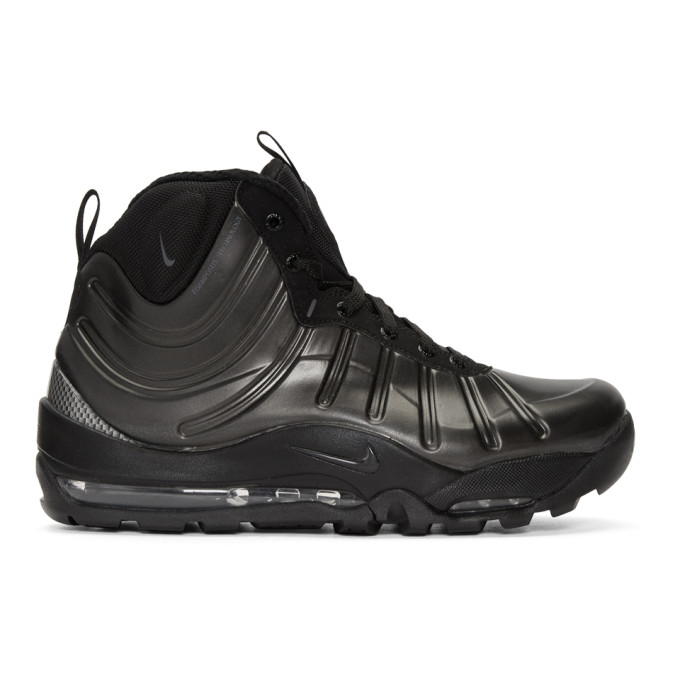 Image of Nike Black Air Bakin' Posite Sneakers