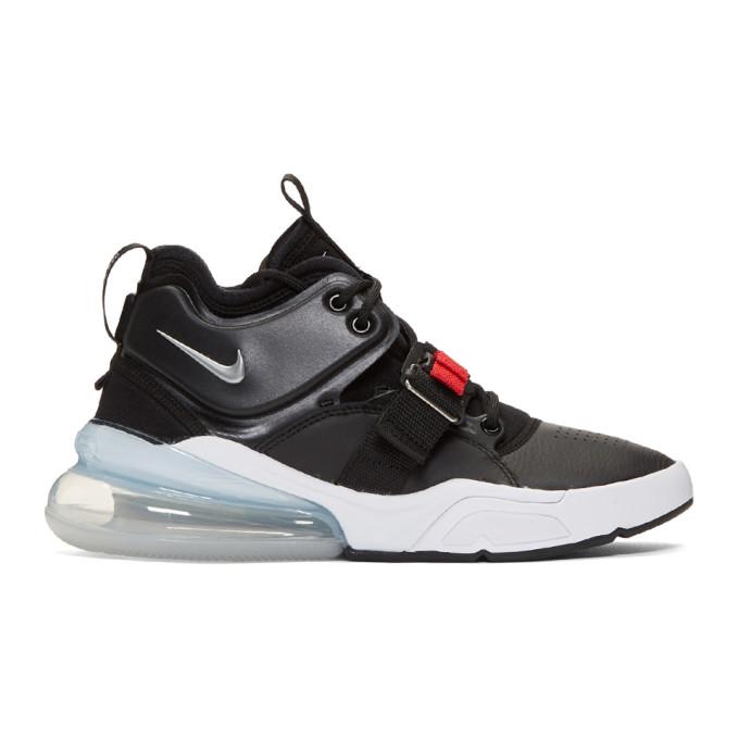 Image of Nike Black Air Force 270 Sneakers