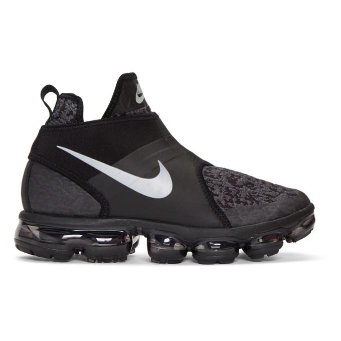 Image of Nike Black Air VaporMax Chukka Sneakers