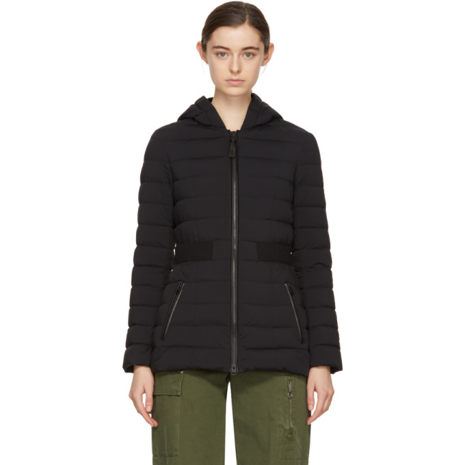 Image of Mackage Black Down Kaila Hooded Coat