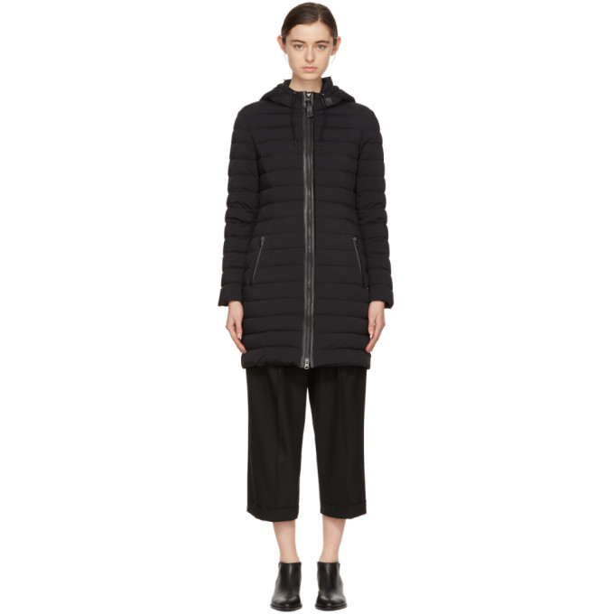 Image of Mackage Black Down Calna Hooded Coat