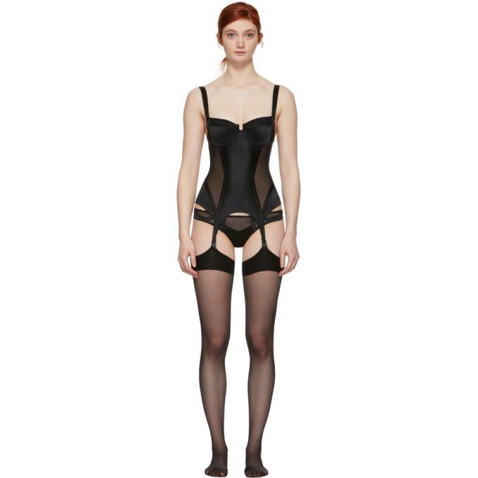 Image of Kiki de Montparnasse Black Expose Garter Top