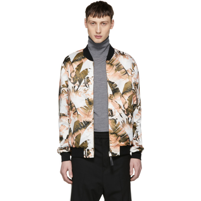 Mackage Reversible Multicolor Bomber Jacket