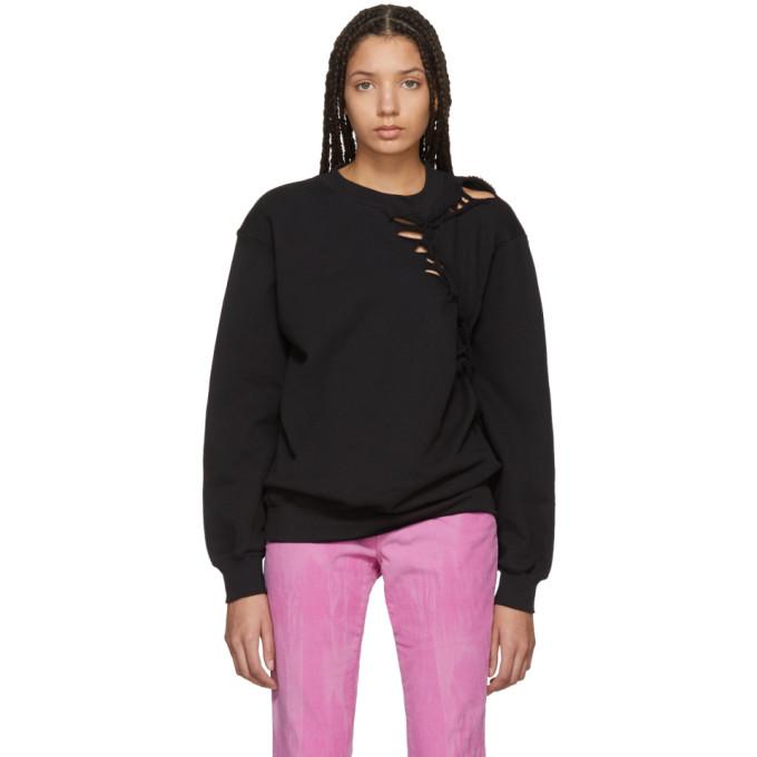 Image of Ottolinger Black Braided Sweater