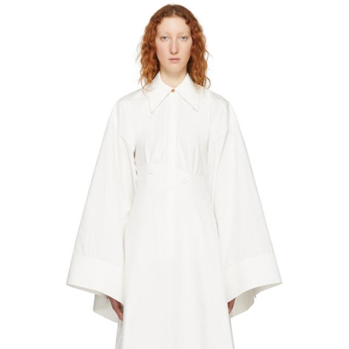 Image of A.W.A.K.E. White Kimono Sleeve Shirt